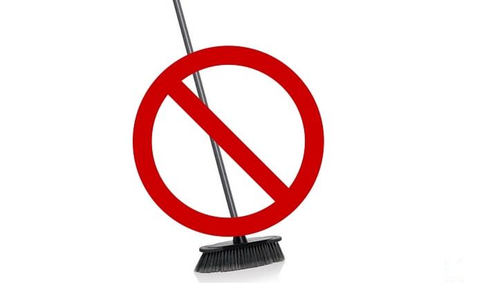 If it isn't dirty , don't clean it