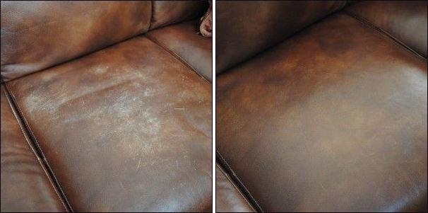 scraches on sofa