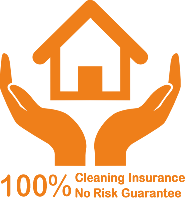 100% Cleaning Insurance No risk Guarantee