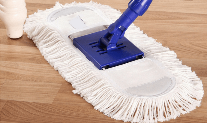 Give the ground surface an exhaustive mopping