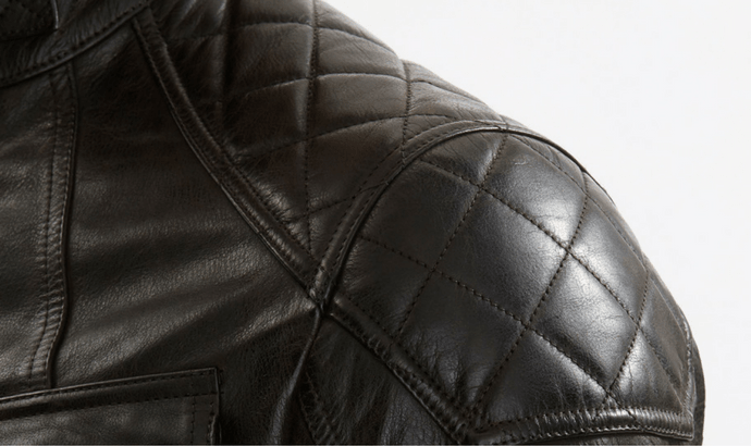 Polish smooth leather coats on extraordinary events
